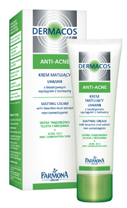 Dermacos Anti Acne day cream with UVA / UVB-filters