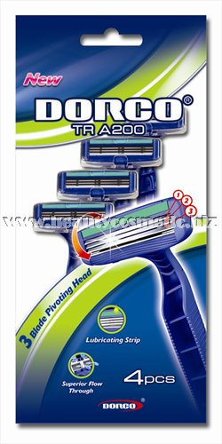 Dorco TRA 200 shavers 4 pieces