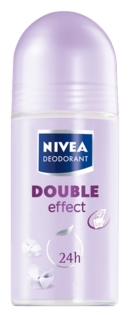 Nivea double effect roll on