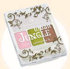 Essence Urban jungle trio eyeshadow&Highlighter