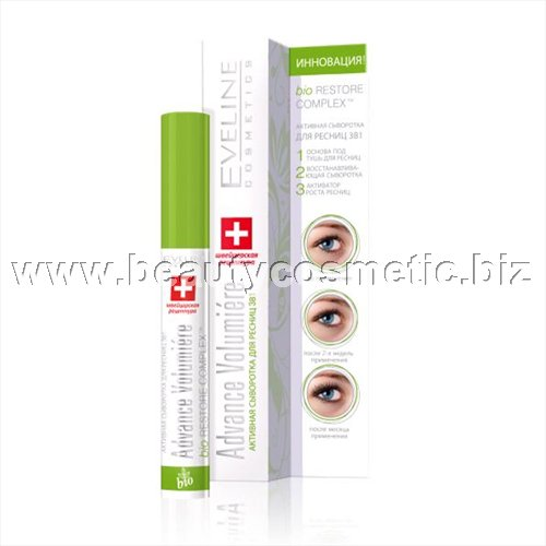 Eveline activator for eyelash growth 3 in 1