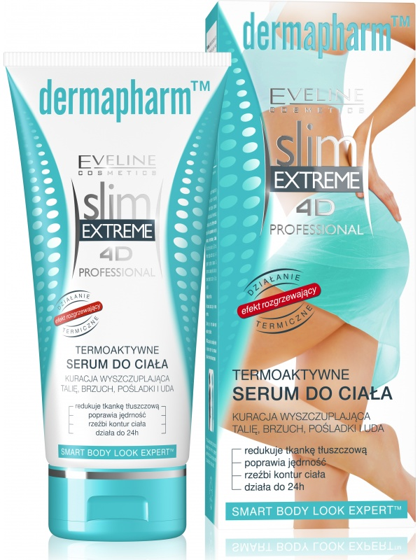 Eveline Slim Extreme 4D Dermapharm thermo serum