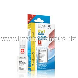 Eveline Nail Therapy 8 in 1 Total Action