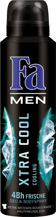 Fa men Xtra Cool deo spray