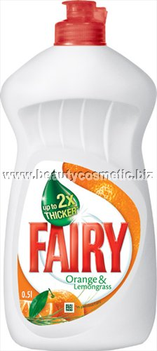 Fairy dish soap Orange & Lemon Grass