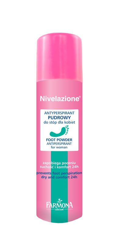 Nivelazione floral spray deodorant, fungi and sweating of the fe
