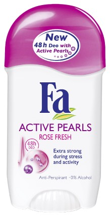 Fa Active Pearls Rose Fresh deo stick