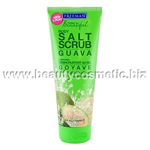 Freeman body scrub sea salt & guava