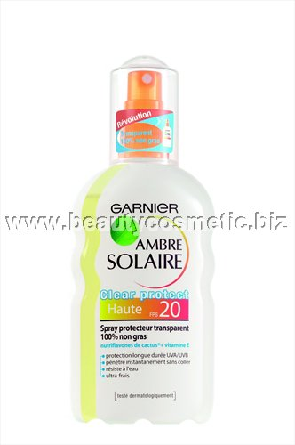 Ambre Solarie Clear Protect spray SPF20