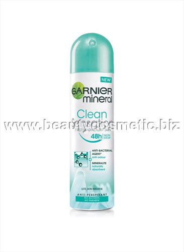 Garnier Mineral Sensitive Clean Sensation deo spray