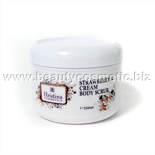 Hristina Body Scrub Strawberry