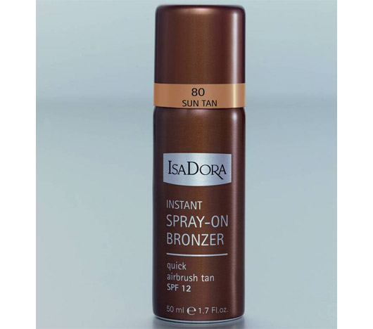 IsaDora Instant spray on Bronzer № 80