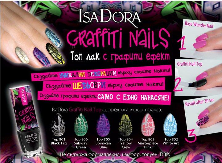 Isadora Graffiti Nails Beautycosmetic Online Store
