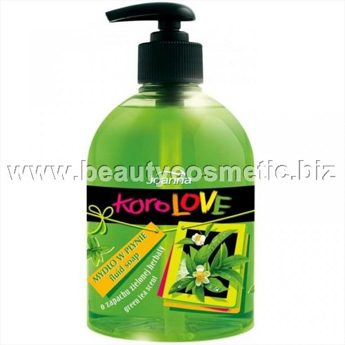 Joanna Korolove soap Green Tea