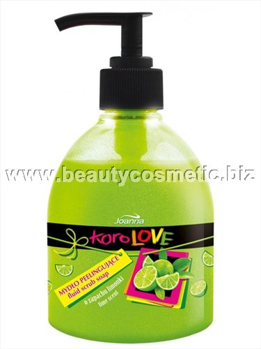 Joanna Korolove liquid soap lemon peel