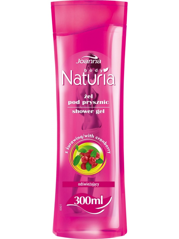Joanna Naturia Shower Gel Cranberry