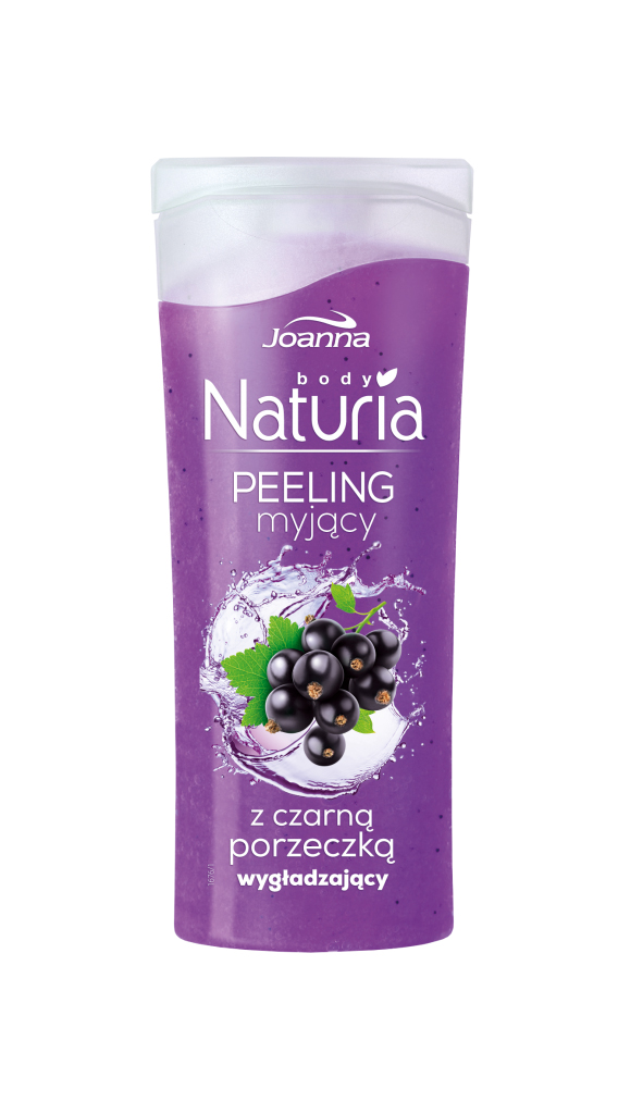 Naturia peeling body Blackcurrant