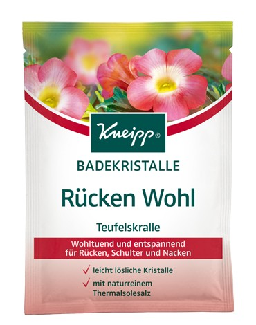 Kneipp Crystals bath to relieve back 60g