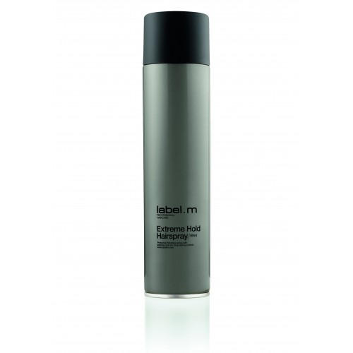 Label. m Extreme Hold Hairspray