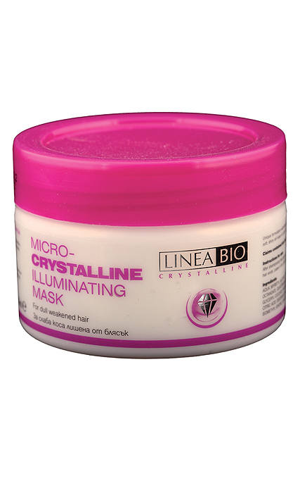 Linea Bio Mask for hair with microcrystals