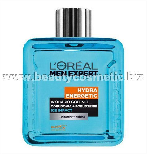 L'Oreal Men expert Hydra Energetic Ice Impact after shave