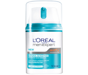 Loreal Men Expert Hydra Sensitive   24H Moisturising Cream Multi