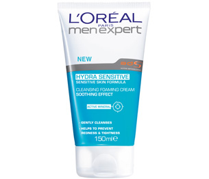 Men Expert Hydra Sensitive   Cleansing Foaming Cream