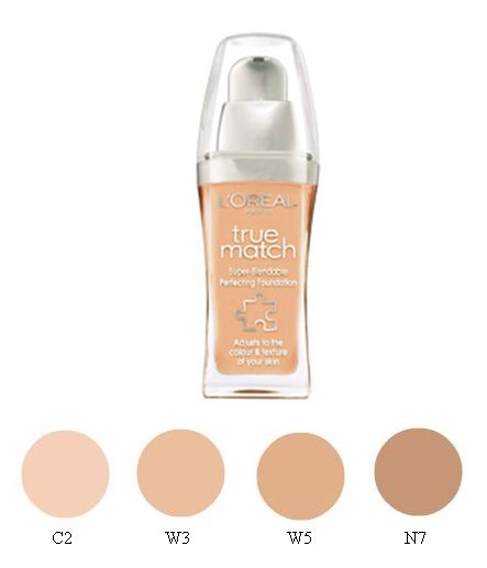 l oreal foundation makeup. L#39;Oréal True Match Foundation