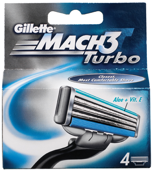 Gillette Mach 3 Turbo резервни ножчета