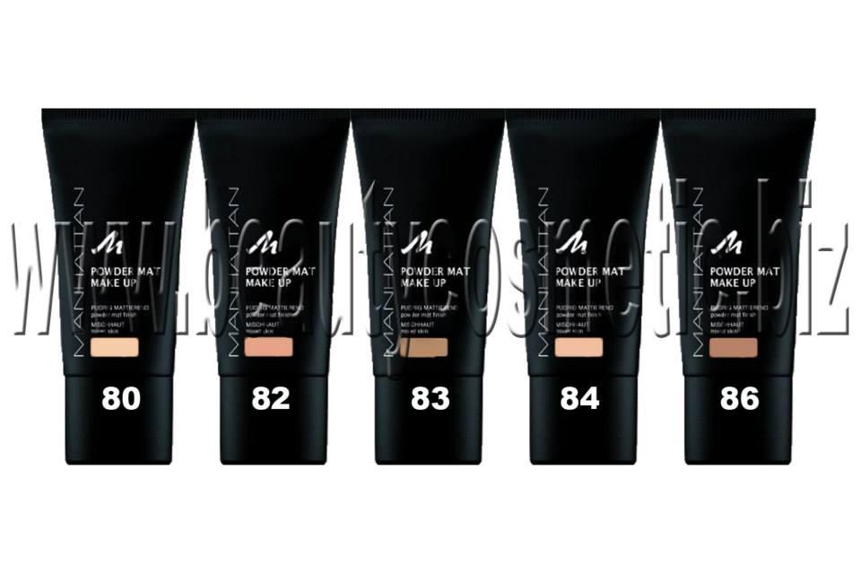Manhattan Powder Mat Make Up Beautycosmetic Online Store