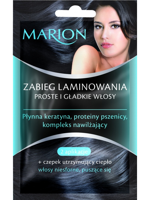 Marion laminating mask smooth and straight hair