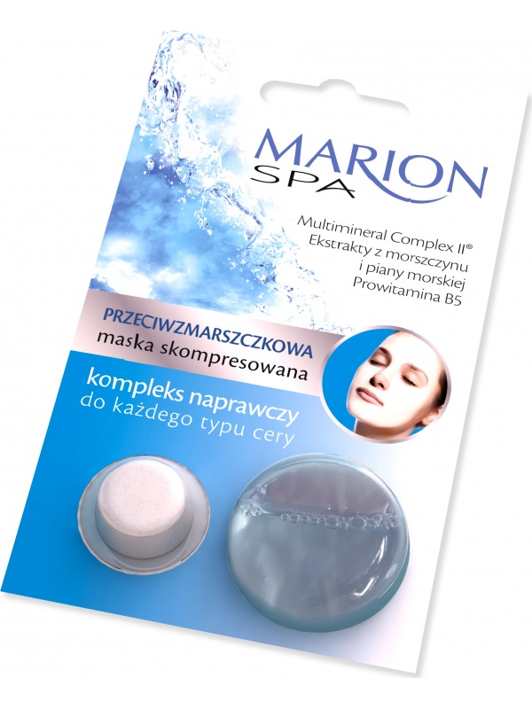Marion Spa compressed facial mask against wrinkles