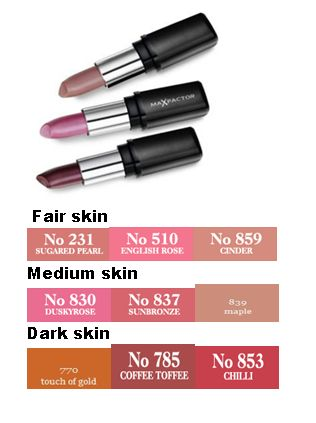 Max Factor Colour Collections