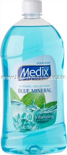 Medix Natural Collection Blue Mineral liquid soap refill