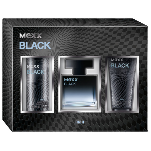 Mexx Black Man Gift Set