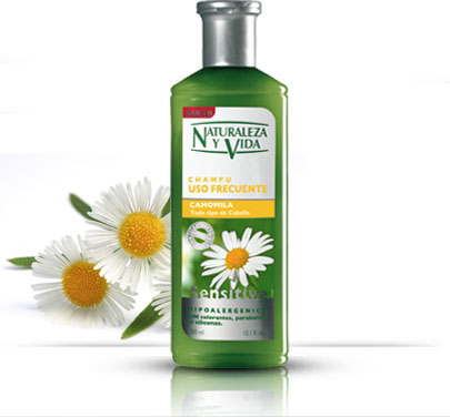 Natur vital Sensitive шампоан за честа употреба