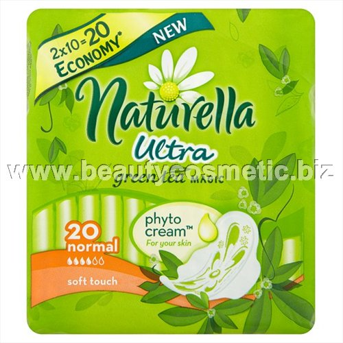 Naturella ultra normal duo Green tea