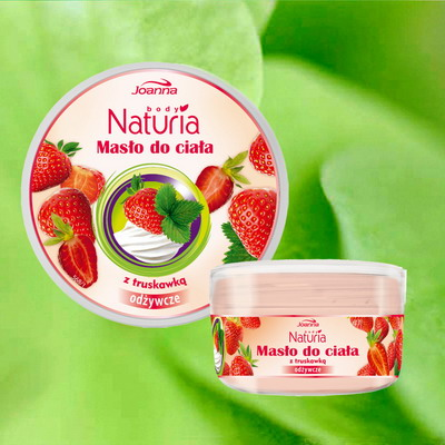 Лосиони за тяло Naturiabodybutterstrawberry