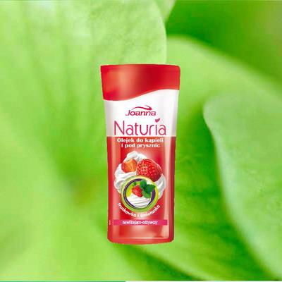 Списък с покупки Naturiaoilshowerstrawberrycream