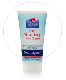 Neutrogena fast absorbing hand cream