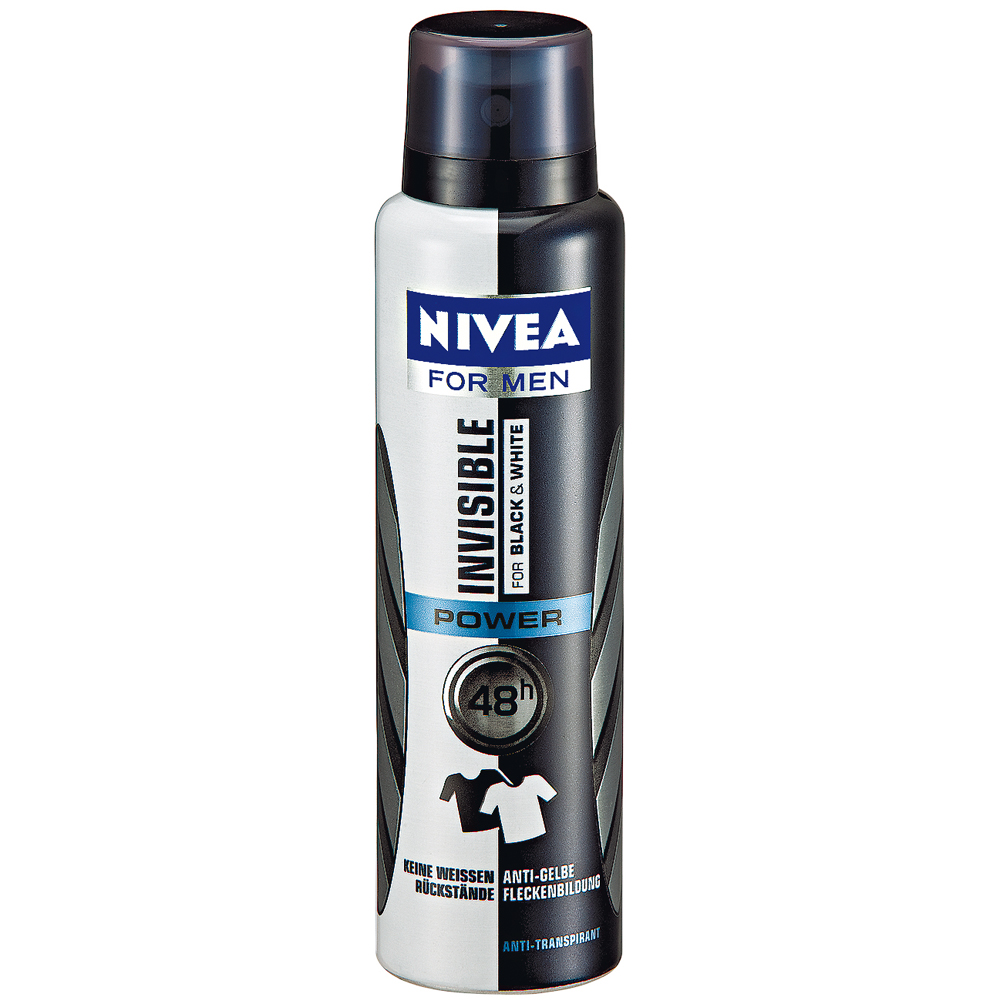 Nivea invisible black white power део спрей
