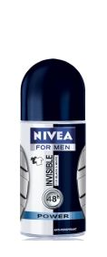 Nivea invisible black white power deodorant рол он