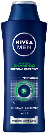 Nivea Anti-Dandruff men шампоан Cool 400ml