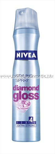 Nivea Diamond Gloss лак за коса