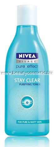 Nivea Visage Pure Effect Stay Clear почистващ тоник
