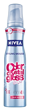 Nivea Color Crystal Gloss Styling Mousse