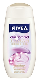 Nivea Diamond Touch крем душ олио