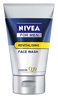 NIVEA FOR MEN Revitalizing Q10 washing gel
