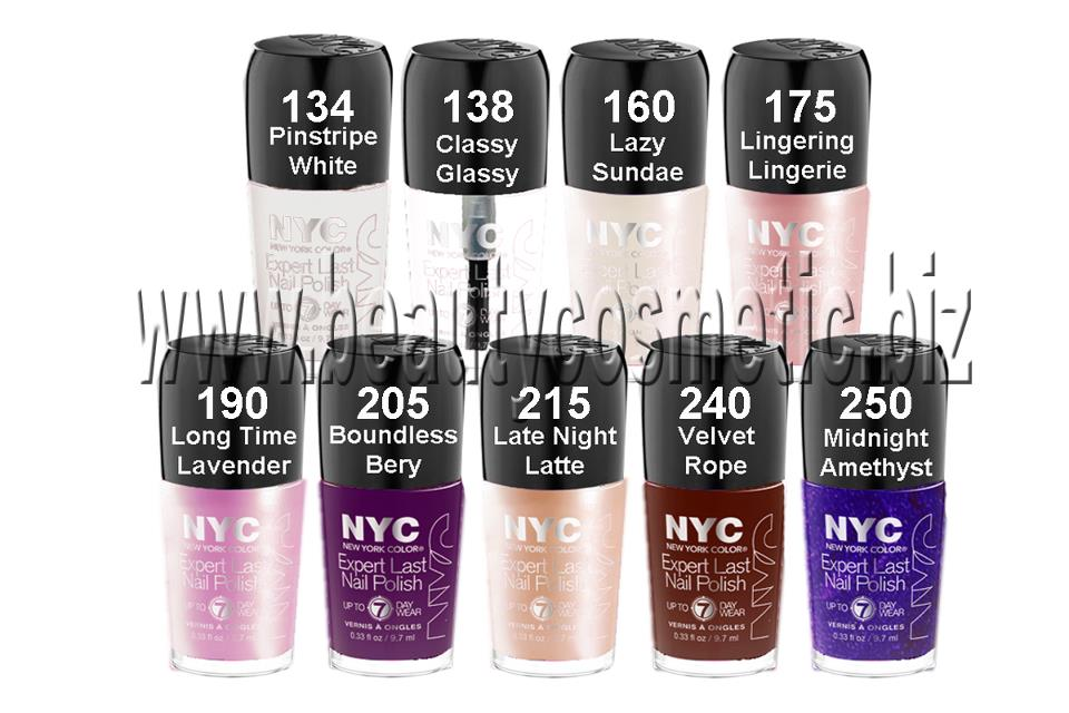 New York Color Expert Last nail polish