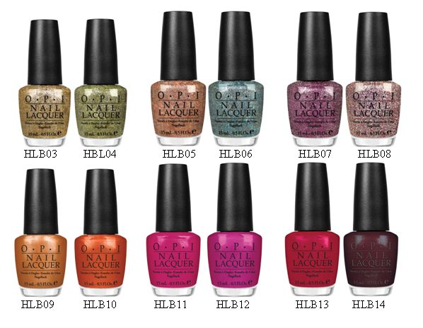 OPI Burlesque collection